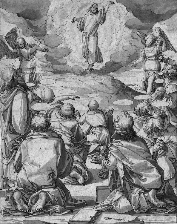 The Transfiguration of Christ  Old Master Drawing