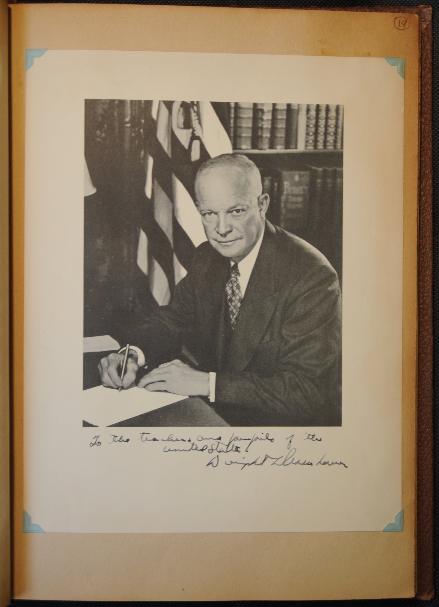 Entry #19: President Eisenhower
