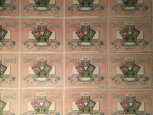 Geneve 1896 Exposition Internationale Timbres Postes