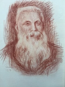 Auguste RodinLithograph after a drawing by Renoir