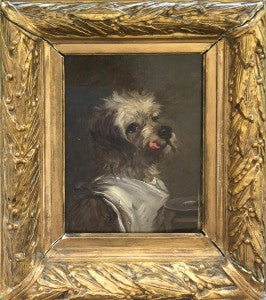 Cute Dog Painting