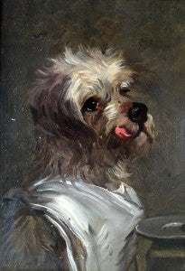 Funny Dog Painting