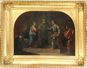 Marriage of the Virgin Mary Neapolitan Painting Petit Palais