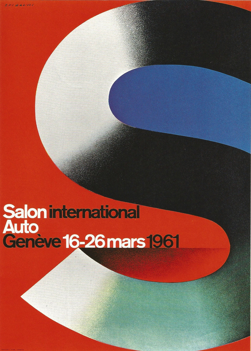 SALON INTERNATIONAL DE L'AUTO GENÈVE 1961 - appleboutique-com