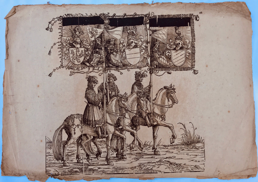 Albrecht Altdorfer (1482/5–1538) and Hans Burgkmair the Elder (1473 - 1531)  The Triumphal Procession of Emperor Maximilian