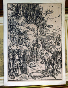 Albrecht Durer martyrdom of the ten thousand woodcut - appleboutique-com