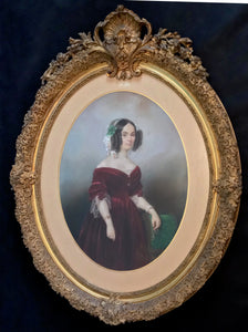 Angelique Mezzara, Portrait de Mme la comtesse de Salvandy