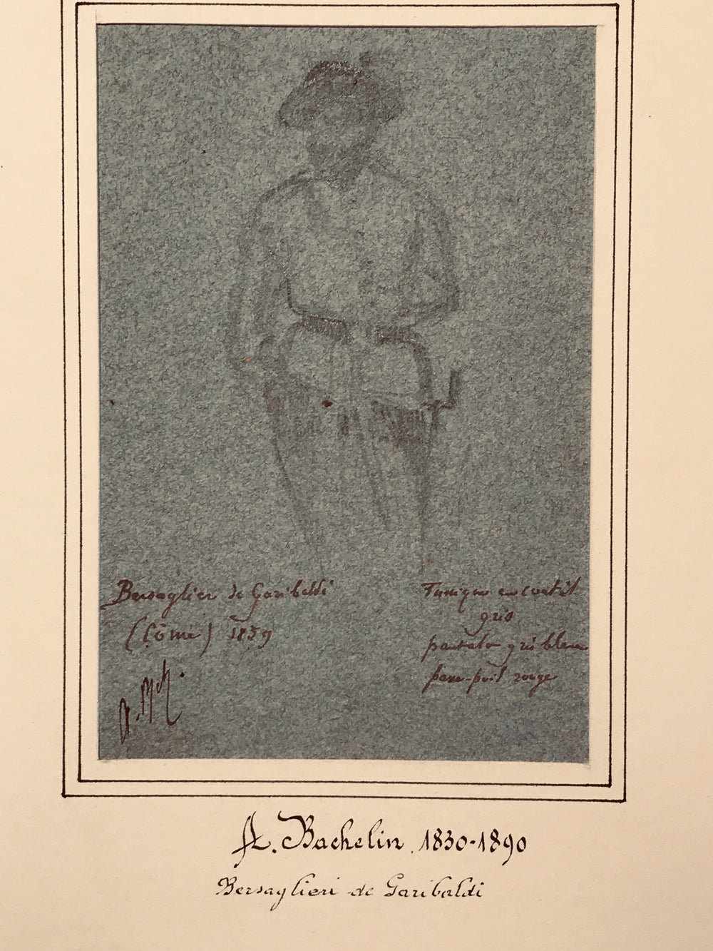 Auguste Bachelin eleven drawings