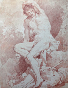 Charles-Joseph Natoire  Old Master Drawing