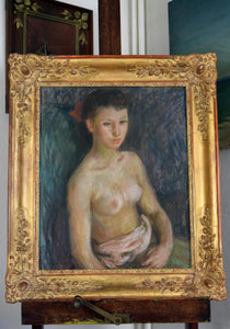 Pierre Deval Pastel Portrait Girl