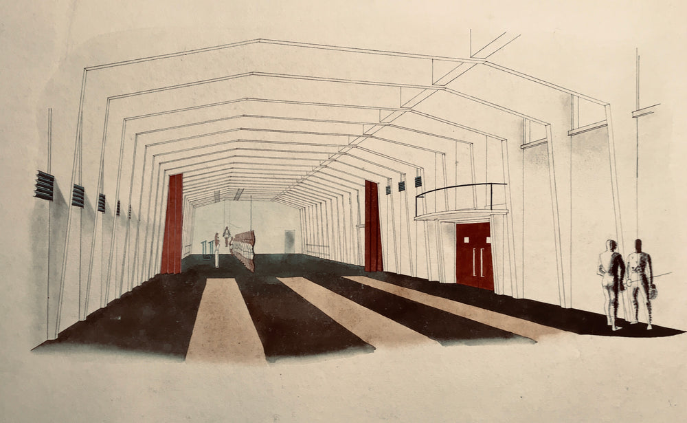 Denis Honegger Project Drawings for the Misericorde