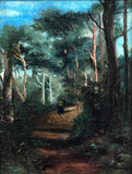Henri Joseph Harpignies animated woodland scene - appleboutique-com