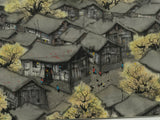 HUO GENZHONG 霍根仲 (1939-2000) Village in the countryside