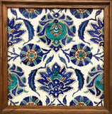 AN IZNIK POTTERY TILE - appleboutique-com