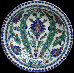 IZNIK B.F.K. POTTERY DISH - appleboutique-com