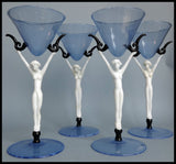 Art Deco glasses  Istvan komaromy. - appleboutique-com