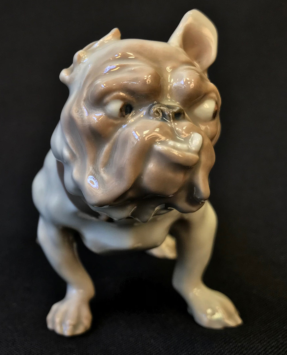 DAHL JENSEN ROYAL COPENHAGEN ENGLISH BULLDOG - appleboutique-com