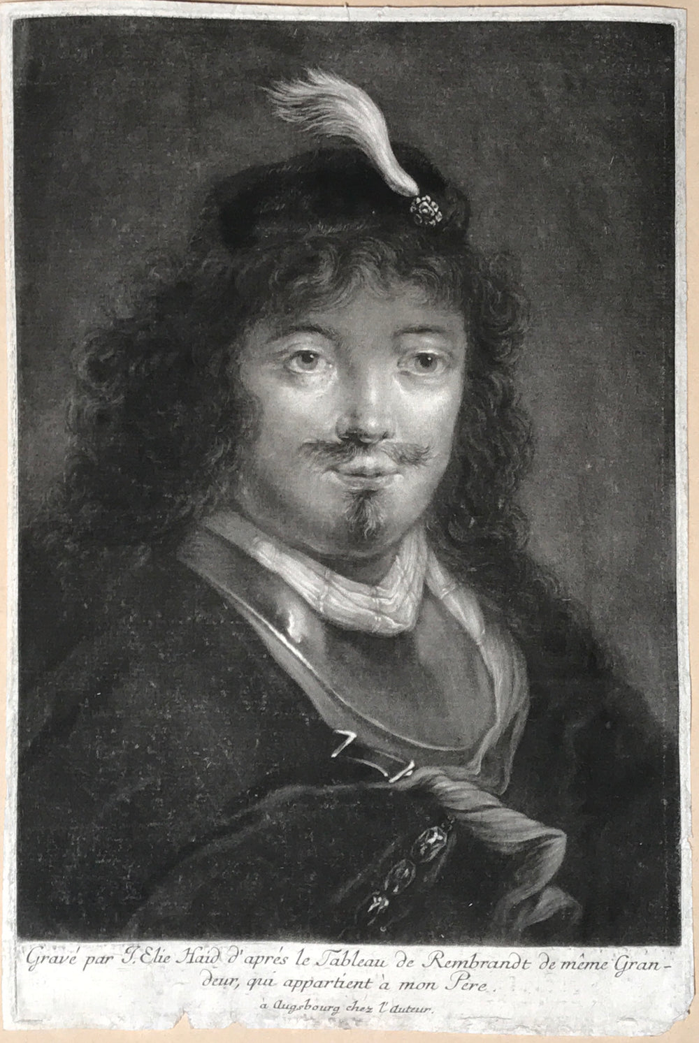 Johann Elias Haid After Rembrandt