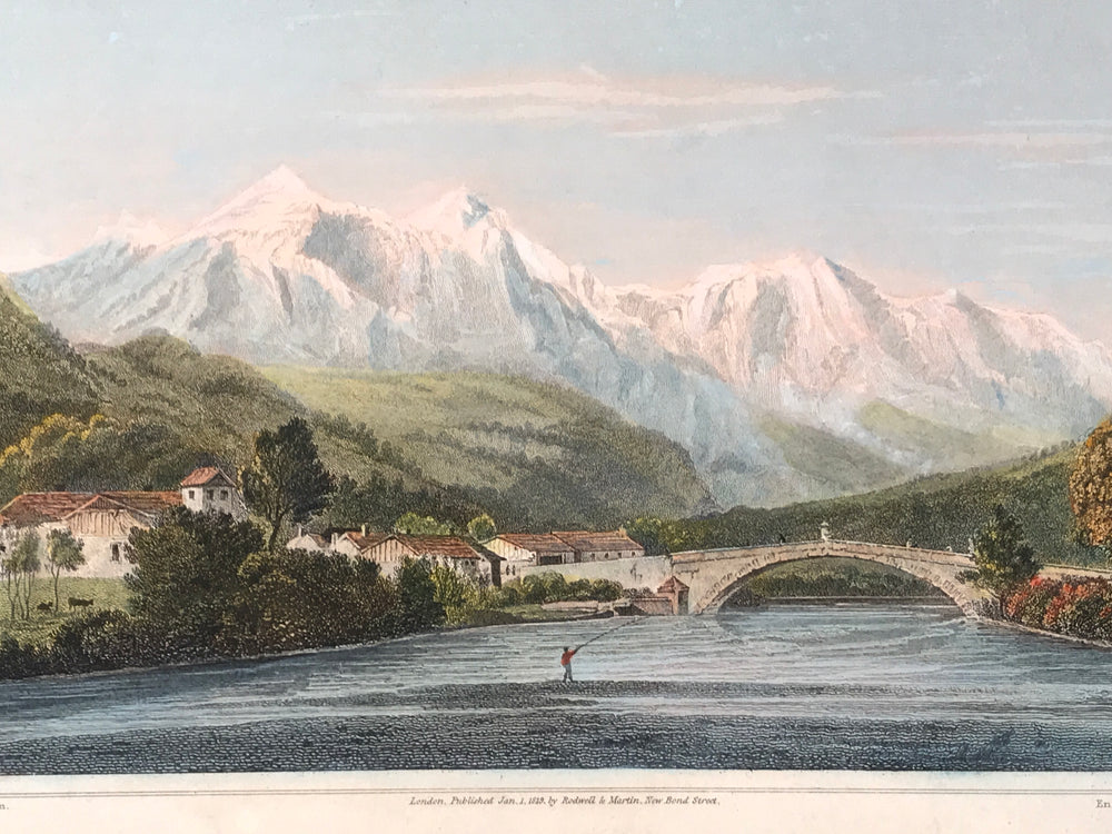 Mont Blanc, from St Martin