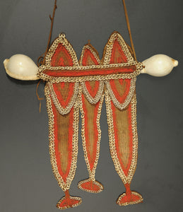 'Fofana' Shell Chest Ornament, Papua New Guinea - appleboutique-com