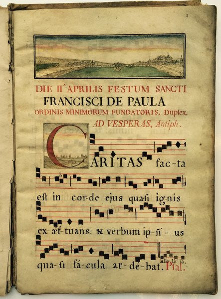 Antiphonary officium proprium san francisco de paula - appleboutique-com