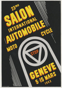 SALON INTERNATIONAL DE L'AUTO GENÈVE 1953