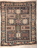Fine Antique Russian Shirvan rug - South East circa 1880