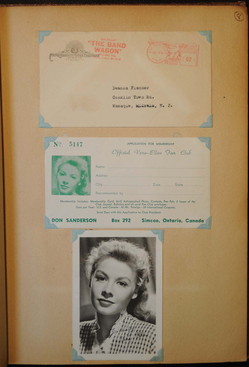 Antique Celebrity Americana Scrapbook - appleboutique-com