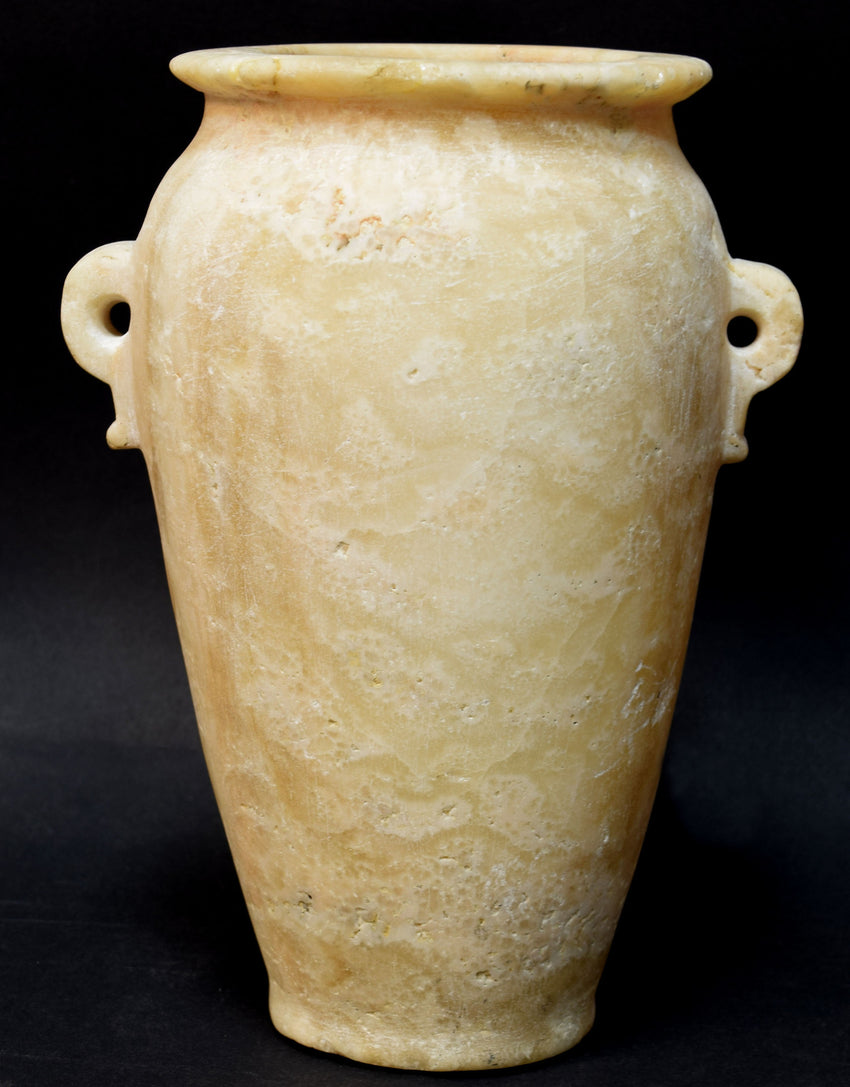 Alabaster. Egypt, Late Roman Period, 2nd half 1st cent. B.C. Alabastron