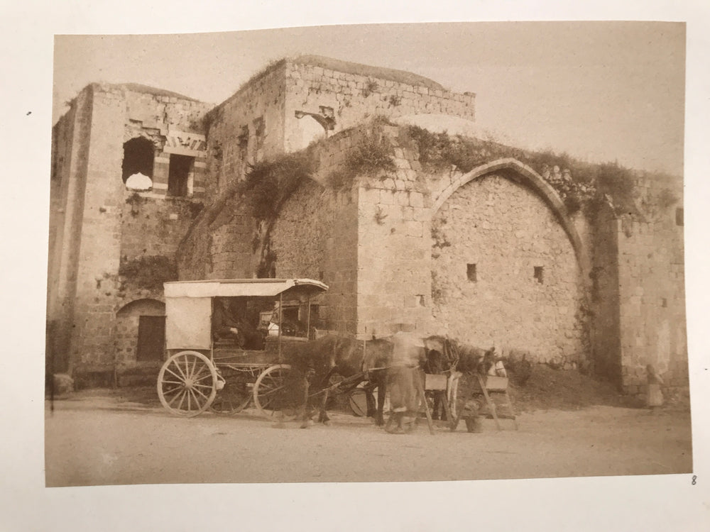 Lot of 22 albumen photos Egypt, Middle East, Greece, Lebanon, Beato