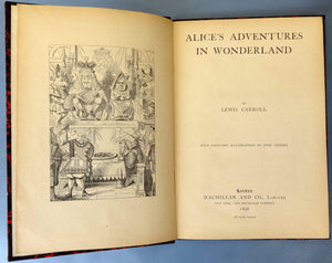 Alice's Adventures in Wonderland 1898