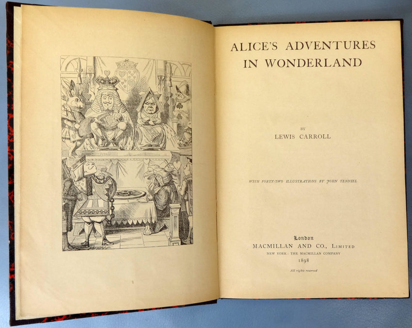 Alice's Adventures in Wonderland 1898 - appleboutique-com