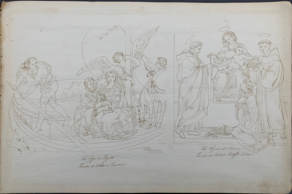 Neo classical Old Master Drawing Scrapbook - appleboutique-com