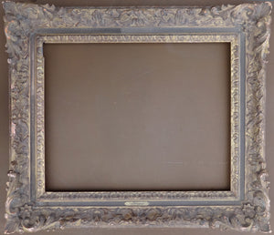 A beautifully wood carved Louis XV style frame