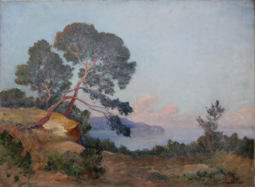 Georges Costeau Sea Side Landscape