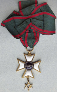 Antique Master Masonic Medal - appleboutique-com