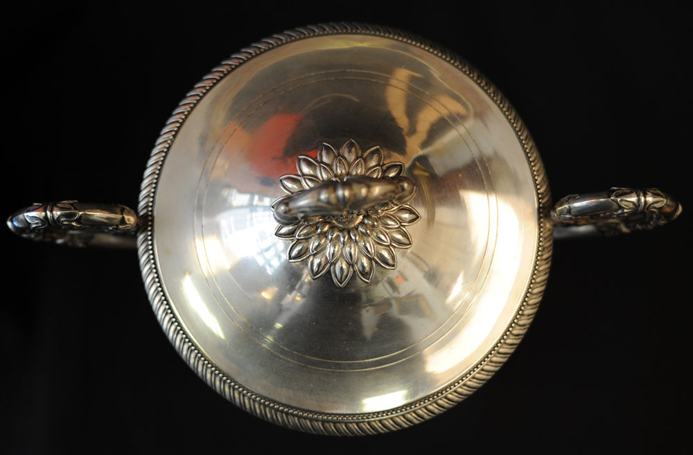 Charles-Louis Dupre SILVER-MOUNTED JAM VASE - appleboutique-com