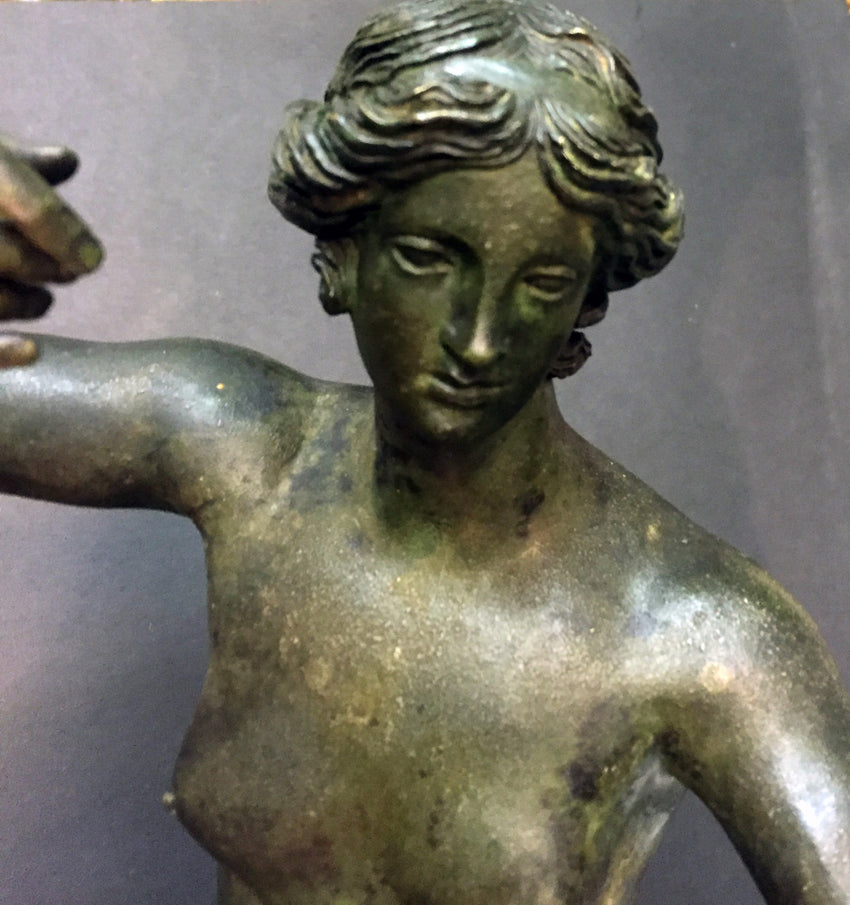 Bronze Statue of Venus or Aphrodite of Capua signed Pietro Masulli.