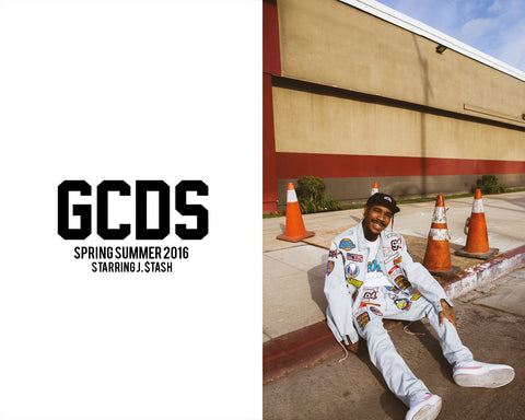 GCDS SS16 CAMPAIGN IS OUT