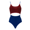 DOUBLE LUREX SWIMSUIT