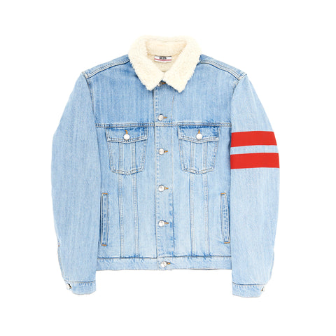 DENIM LOGO JACKET