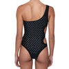 Bling double oblo swimsuit