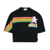 RAINBOW CARE BEAR CROP TEE