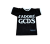 DOGGY J'ADORE PRINT T-SHIRT