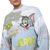 Tom & Jerry Napoli logo sweater