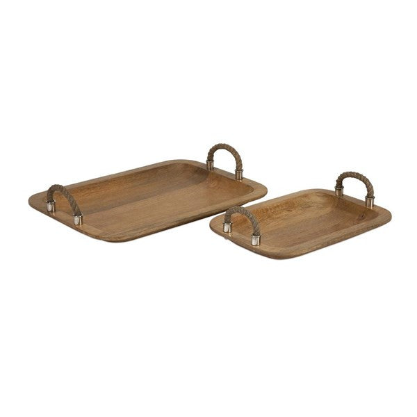 Tabari Wood Trays (2)