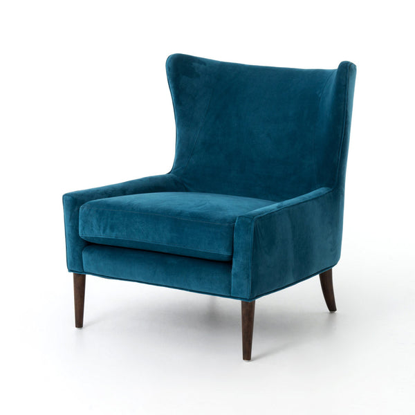 Marlow Peacock Wing Chair