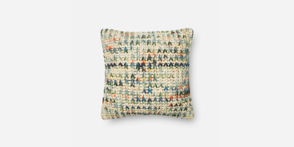 Rainbow Knit Pillow (2)