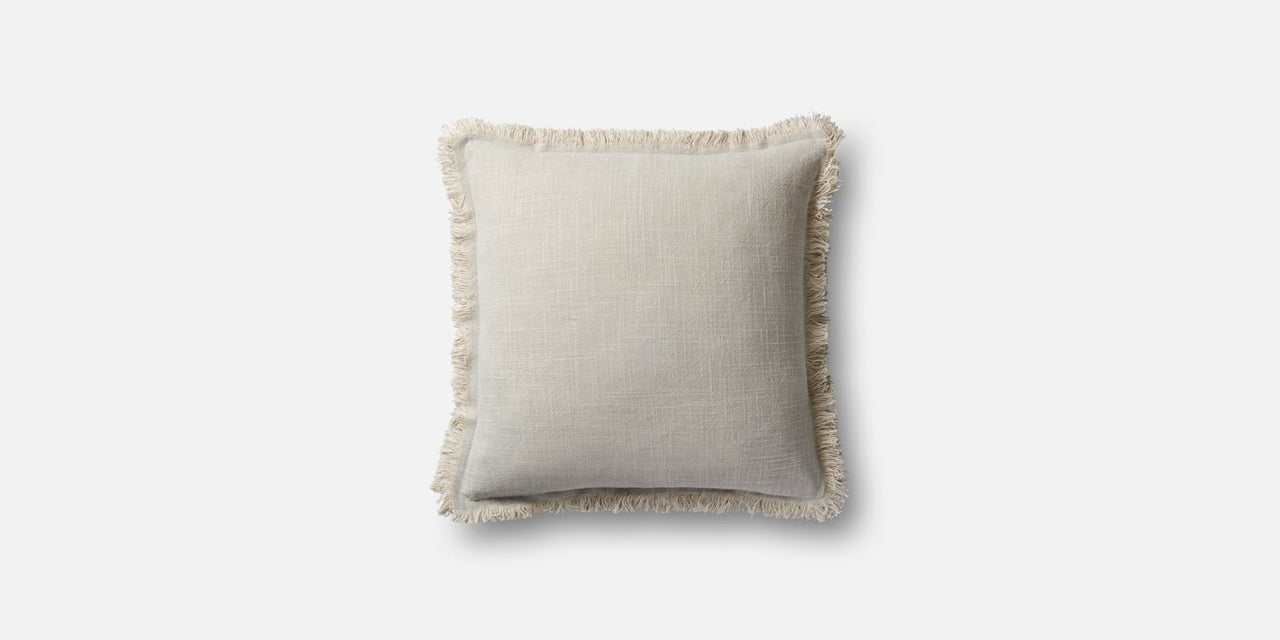 Linen Fringe Pillow (2)