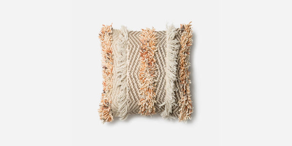Rust Fringe Pillow